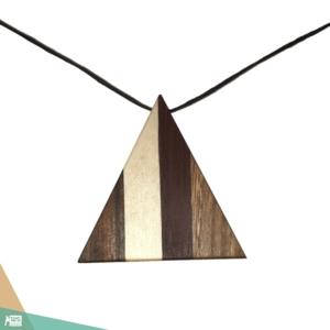 Geometrikus háromszög nyaklánc