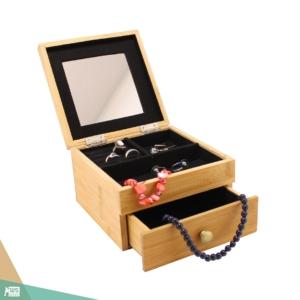 Ékszer doboz, MINI (bambuszfa)