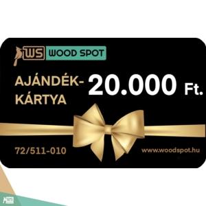 Ajándékkártya 20000 Ft.