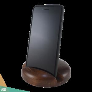 Okostelefon-tartó CLASSIC (bükkfa, barna szín)