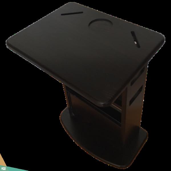TV asztalka (bükkfa, fekete wenge szín)