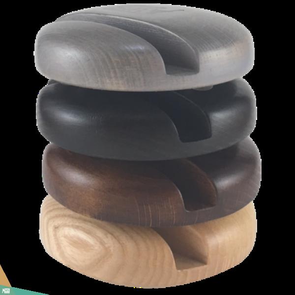 Okostelefon-tartó CLASSIC (kőrisfa)