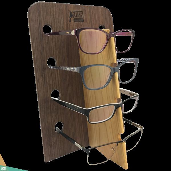 Szemüvegtartó (diófa és cseresznyefa)