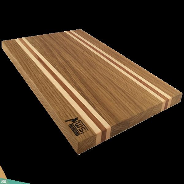 Vágó- és tálalódeszka SLIM CUT (tölgyfa, juharfa és almafa)