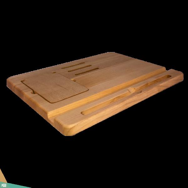 Tablet tartó, natúr (juhar)